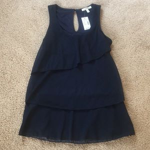 Brand New With Tags Navy Maurices Tank